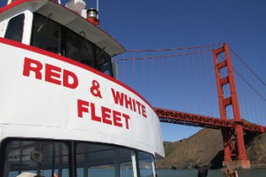 Sandia National Laboratories and San Francisco's Red and White Fleet are partnering to develop a high-speed, hydrogen fuel cell-powered passenger ferry and refueling station. [Photo courtesy: Red and White Fleet]